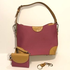 Joy Mangano expandable purse and wallet set